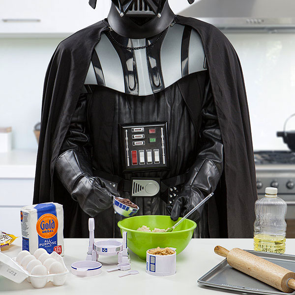 Death Star Bake Sale: R2-D2 Measuring Cups