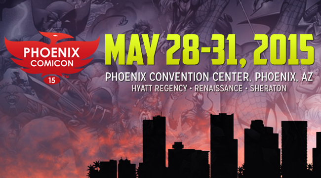What's in store for Phoenix Comicon 2015